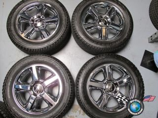 Tahoe Factory 20 Chrome Wheels Tires Rims Silverado 1500 Sub