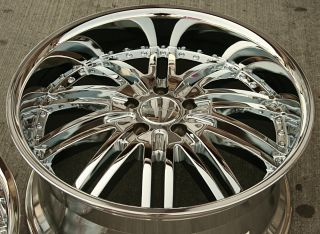 Menzari Z08 20 Chrome Rims Wheels Mercedes SL500 SL600 20 x 8 5 10 5H