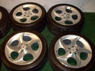 18 Mercedes OEM Factory Wheels SL CLS Class SL500 SL320 SL600 SL550