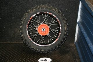 KTM65 SX Rear Wheel Hub Rim Spokes