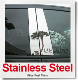 2007 2011 Ford Edge Lincoln MKX 8P Stainless Steel Pillar Post