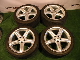 18 Mercedes Wheels Tires SL CLS Class SL500 SL320 SL550 SL600 CLS500