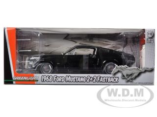 Brand new 118 scale diecast model car of 1968 Ford Mustang GT 2+2