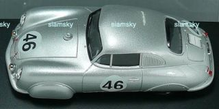 1951 Porsche 356 Light Metal Coupe Diecast Car 1 43