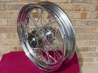 16X3 40 SPOKE REAR WHEEL FOR HARLEY SOFTAIL AND SPORTSTER 1979 99