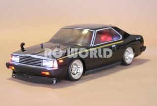 Tamiya 1 10 RC R30 Nissan Skyline Turbo L E D RTR Mint