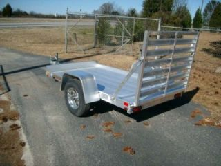 2013 Aluma 548 Cargo Aluminum Utility Trailer Old Stock CLEARANCE New