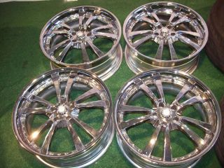 20 Mercedes Chrome Wheels s CL C CLK E Class S500 CL500 S550 S430 S420