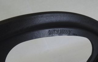 New Skyway Tuff II Mag Wheel Black 20 Front Wheel Single Wheel SEALED