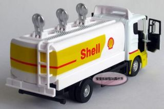 New 1 43 Sweden Scania Shell Tank Truck Diecast Model Car with Box