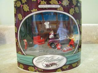Holiday Hot Wheels Christmas Santas Hot Rod 2002