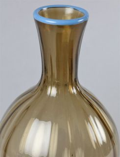 French Art Deco Daum Glass Vase Signed C 1930