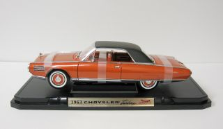 Turbine Diecast Model Car   118 Scale Yat Ming Orange  Bad Base