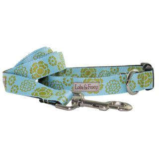 Lola & Foxy Nylon Dog Leashes   Basil	   Leashes Nylon   Collars, Harnesses & Leashes