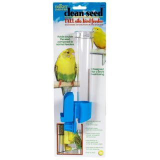 JW Pet Clean Seed Silo Bird Feeders   Bowls & Feeders   Bird