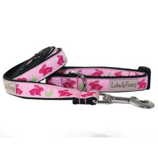 Lola & Foxy Nylon Dog Leashes   Bunny Rabbit	   Leashes Nylon   Collars, Harnesses & Leashes