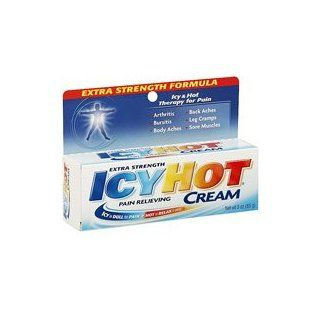 Icy Hot Extra Strength Pain Relieving Cream GROSSPACKUNG 85g   aus den
