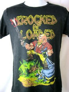 Brock Lesnar Punch Buddies Brocked N Loaded Premium Black T shirt New