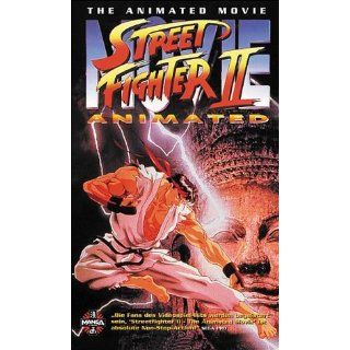 Street Fighter 2   Anime [VHS] Gisaburo Sugii VHS