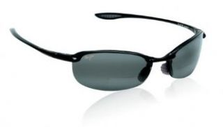Maui Jim Makaha Gloss Black/Neutral Grey Sunglasses (MJ Makaha 805