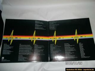 Pink Floyd THE DARK SIDE OF THE MOON   LP vinyl + poster & postcards