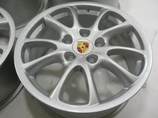 Porsche 911 996 Turbo Carrera 4S GT3 II Felgen / Rims / Wheels 18 Zoll
