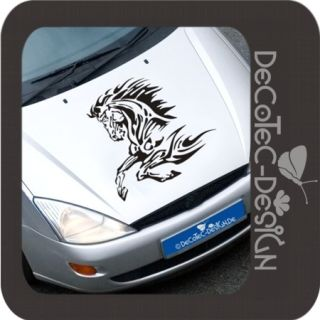 A379 Pferd XXL Autoaufkleber Tribal Tattoo Horse Decal
