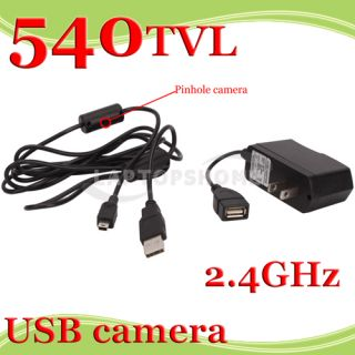 NEW 540TVL Wireless wired Security Pinhole Mini USB Hidden HD Camera