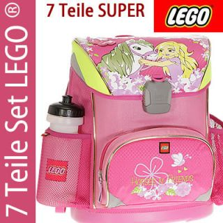 7tlg. LEGO SUPER LIGHT GIRL HORSE Schulranzen Ranzen