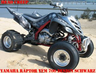 INVISION DEKOR KIT YAMAHA RAPTOR YFM HEAD CREEP B