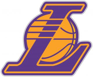 Los Angeles Lakers NBA Basketball Car Bumper Window Notebook Sticker