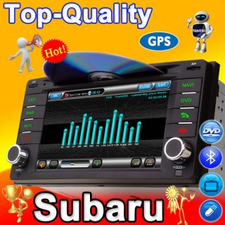 Subaru Forester Impreza DVD GPS Navigation Radio 2 Din CD Player Navi