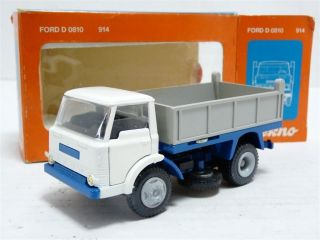 Tekno 914 Holland 1 43 1 50 Ford D800 Dump Lorry Diecast Model Truck