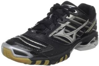 Mens Wave Lightning 7 Volleyball Shoe,Black/Silver,9.5 M US Shoes
