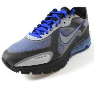 ] Drenched Blue/Metallic Silver Black Mens Shoes 454347 401 10 Shoes