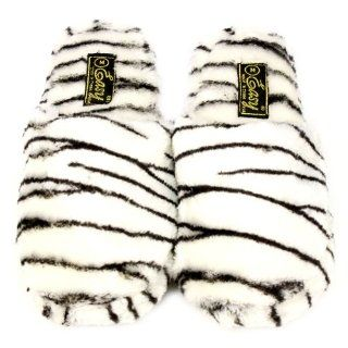 Soft Cushion Indoor Outdoor Non Slip Sole Slippers Zebra L 9 10 Shoes