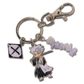 Bleach Chibi Hitsugaya Metal Key Chain Clothing