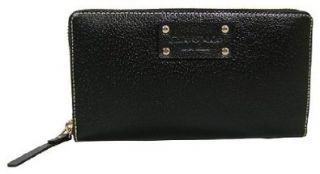 Kate Spade Neda Wellesley Black Leather Wallet Shoes