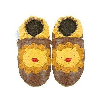 Robeez Lion II Chestnut Brown Soft Sole Baby Shoes 12 18 months Shoes