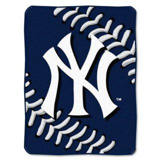New York Yankees 60x80 Big Stitching Super Plush Throw