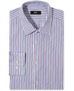 Hugo Boss Slim Fit Dress Shirt, BOSS Striped Long Sleeve