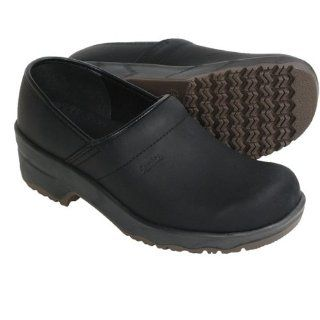 Sanita Leo Clogs   Leather (For Men)   BLACK Shoes