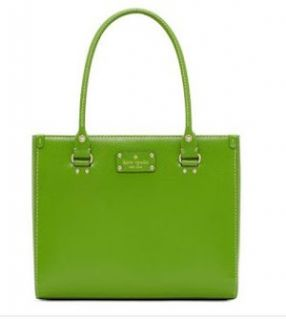 Kate Spade Wellesley Quinn Vine Green Leather Handbag Shoes