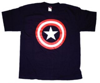 Captain America Shield T Shirt Tee Marvel Comics Clothing