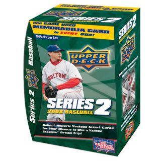 Upper Deck 2008 Series 2 Baseball Trading Cards