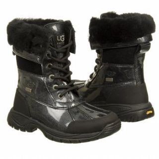 UGG Australia Kids Butte Boot   Black Shoes