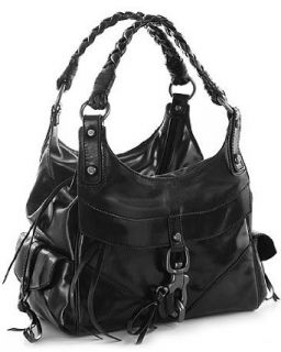 Black Leather Secret Love K Francesco Biasia Hobo