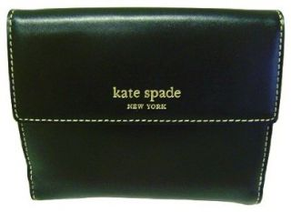Kate Spade Jane Street Maria Black Leather Wallet Shoes