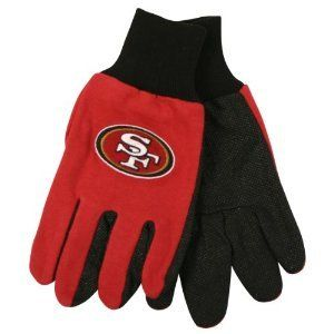 San Francisco 49ers NFL All Purpose Utility Grip Gloves
