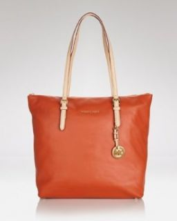 Michael Michael Kors Jet Set Large Tote Burnt Orange